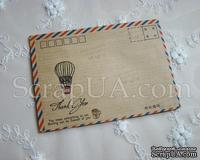 """Винтажный конверт """"Thank you"""", 1 шт"""