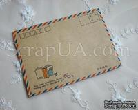 """Винтажный конверт """"Book"""", 1 шт"""