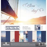 Набор скрапбумаги от Paper House - Paper Crafting Kit - Nautical, 30 x 30 см