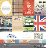 Набор скрапбумаги от Paper House - Paper Crafting Kit - England, 30 x 30 см