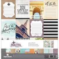 Набор скрапбумаги от Paper House - Paper Crafting Kit - France, 30 x 30 см