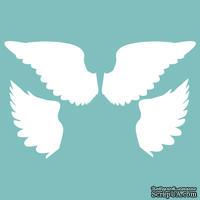 Чипборд от Вензелик - Крылья, размер: 30*90, 36*53 мм