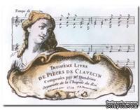 Акриловый штамп La Blanche - Troisime Livre