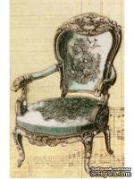 Акриловый штамп La Blanche - Antique Chair Stamp