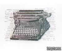 Акриловый штамп La Blanche - Typewriter Stamp