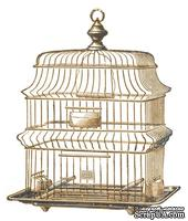Акриловый штамп La Blanche - Wire Bird Cage Stamp