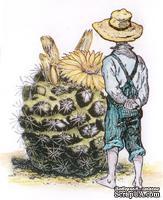 Акриловый штамп La Blanche - Befriending a Cactus Stamp