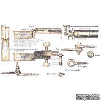 Акриловый штамп La Blanche - Hardware