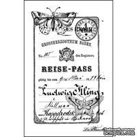 Акриловый штамп La Blanche - Reise Pass