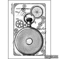 Акриловый штамп La Blanche - Clock Back
