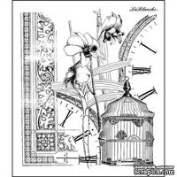 Акриловый штамп La Blanche - Orchid Collage