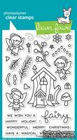 Штампы от Lawn Fawn - Frosty Fairy Friends, 33 шт