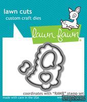 Нож для вырубки от Lawn Fawn - RAWR