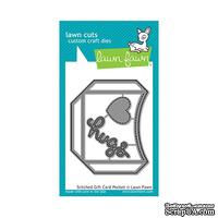 Нож для вырубки от Lawn Fawn - Stitched Gift Card Pocket