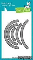 Ножи для вырубки от Lawn Fawn - Slide on Over Semicircles