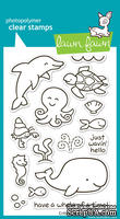 Штампы от Lawn Fawn - Critters In The Sea - Морские фигурки