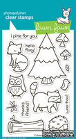 Штампы от Lawn Fawn - Lawn Fawn Clear Stamps - Лесной мир