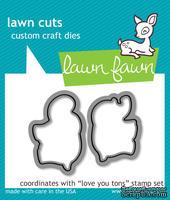Ножи от Lawn Fawn love you tons - lawn cuts - Любимые слоники