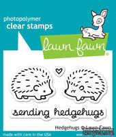 Штампы от Lawn Fawn Clear Stamps - Hedgehugs - Ежики