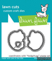 Ножи от Lawn Fawn - Lawn Cuts Custom Craft Die - Hedgehugs - Ежики