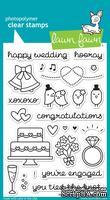 Штампы от Lawn Fawn - Happy Wedding, 25 шт