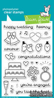 Штампы от Lawn Fawn - Happy Wedding - Счастливая свадьба