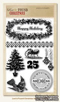 Набор штампов My Mind's Eye - Lost & Found Christmas - Stamps