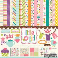 Набор бумаги от Echo Park Paper Co - Little Girl Collection Kit , 30x30 - ScrapUA.com