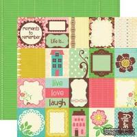 Лист скрапбумаги от Echo Park - Life is Good - Journaling Cards, 30x30