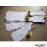 Билетики-заготовки Lesia Zgharda LL014 Белые, 30 штук