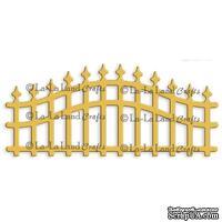 Лезвие La-La Land Crafts - Wrought Iron Fence