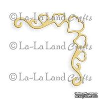 Лезвие La-La Land Crafts - Heart Ribbon Corner
