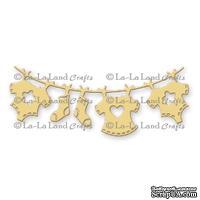 Лезвие La-La Land Crafts - Baby Clothesline Banner