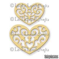 Лезвие La-La Land Crafts - Filigree Hearts