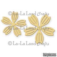Лезвие La-La Land Crafts - Notched Flowers
