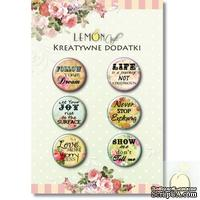 ЦЕНА СНИЖЕНА! Фишки LemonCraft -Subtitles 1, на клеевой основе