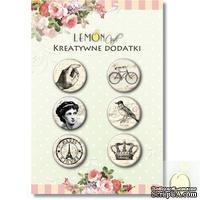 Фишки LemonCraft - Vintage1, на клеевой основе
