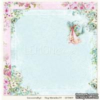 Бумага для скрапбукинга LemonCraft - Tiny Miracles - 02, двусторонняя, 30х30 см, 1 лист