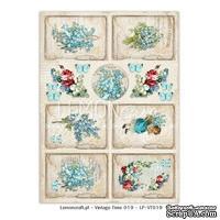 Лист с картинками LemonCraft - Forget Me Not - Vintage Time 019