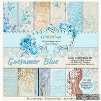 Набор скрапбумаги LemonCraft - Gossamer Blue, 30х30 см, с бонусом