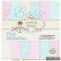 Набор скрапбумаги LemonCraft - Tiny Miracles, фоновые дизайны, 30х30 см, с бонусом