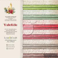Набор скрапбумаги LemonCraft -  Yuletide Basic, базовая, 30.5х30.5 см, двусторонняя
