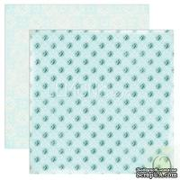 Бумага для скрапбукинга LemonCraft - Forget Me Not - 02, двусторонняя, 30х30 см, 1 лист