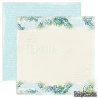 Бумага для скрапбукинга LemonCraft - Forget Me Not - 03, двусторонняя, 30х30 см, 1 лист