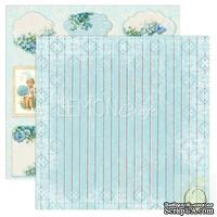 Бумага для скрапбукинга LemonCraft - Forget Me Not - 06, двусторонняя, 30х30 см, 1 лист