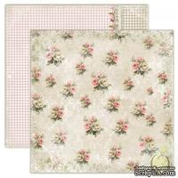 Лист скрапбумаги LemonCraft - House of Roses - Double-sided scrapbooking paper, Houses Of Roses - Old-fashioned dress, двусторонний, 30х30 см