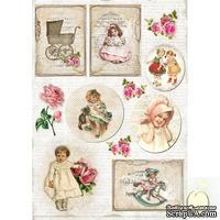 Лист с картинками LemonCraft - Vintage Time 003