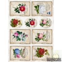 Лист с картинками LemonCraft - Vintage 002