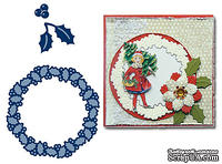 Набор лезвий Marianne Design Creatables - Holly Wreath - ScrapUA.com