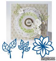 Набор лезвий Marianne Design Creatables - Flower and Leaves
